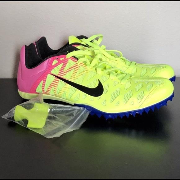 timeless design d77bd 4bef6 Nike Zoom Maxcat 4 Rio OC Track  Field SZ 11 Volt